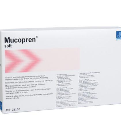 Mucopren® softМатеріал, для виготовлення підкладок під зубні  протези