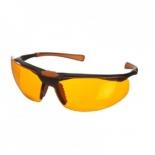 Захисні окуляри, оранжево-червоні