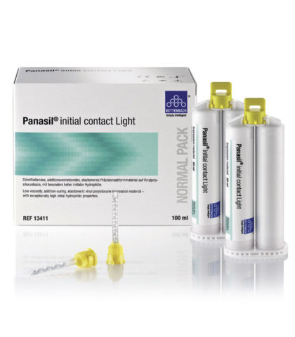 Panasil initial contact light, корегуюча маса А-силікон
