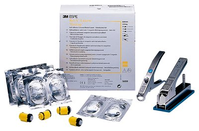 RelyX Unicem/Maxicap, стартовий набір, 20 капсул Mix (A2, A3, T) + 1 активатор + 1 аплікатор